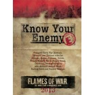 Know Your Enemy : Early War 2013 Edition pas cher