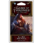 A Game of Thrones : The Card Game - All Men are Fools Chapter Pack pas cher