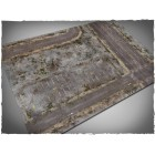 Terrain Mat PVC - Walking Dead City - 120x180 pas cher