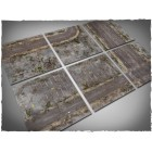 Terrain Tiles Set - PVC - Walking Dead City - 120x180 pas cher