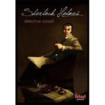 Couverture de la boîte du jeu Sherlock Holmes Detective Conseil