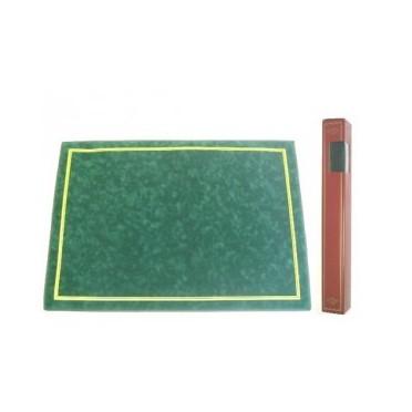 Tapis de Tarot Vert