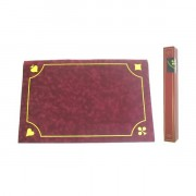Tapis de Belote Rouge