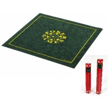 Tapis Poker Carré Vert