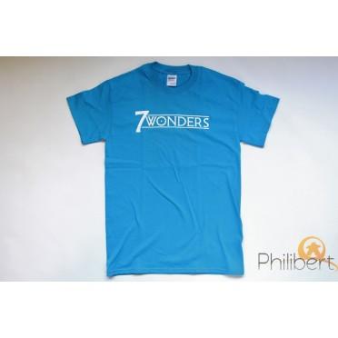 T-Shirt 7 Wonders - Bleu - Joueur