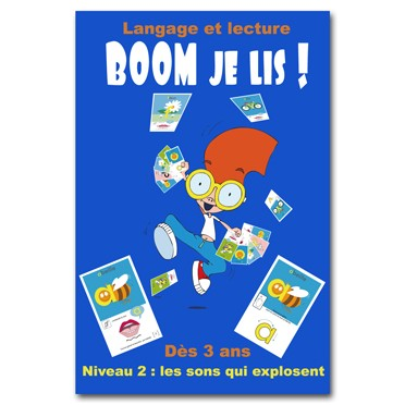 BOOM Je Lis - Niveau 2 : Les Sons qui Explosent