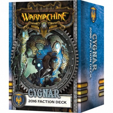 Cygnar - Deck de Faction 2016