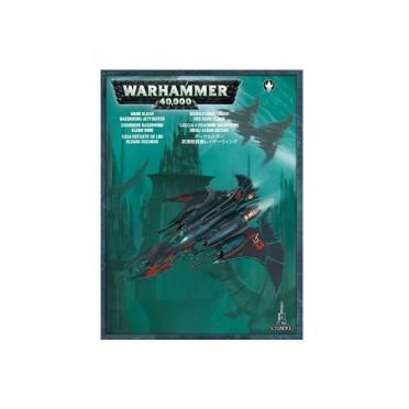 W40K : Dark Eldars - Razorwing Jet Fighter