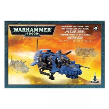 W40K : Adeptus Astartes Space Marines - Land Speeder Storm