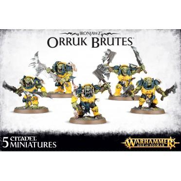 Age of Sigmar : Destruction - Ironjawz Orruk Brutes