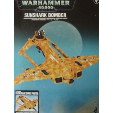 W40K : Tau Empire - Sunshark Bomber / Razorshark Strike Fighter