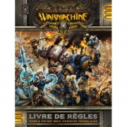 Warmachine Livre de Règles (rigide)-Damaged