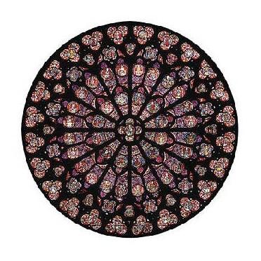 Rosace Notre Dame - 80 pièces