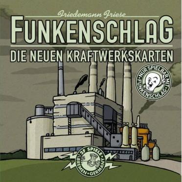 Funkenschlag Extension 3 : Die Neuen Kraftwerkskarten