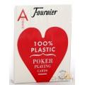 Fournier Poker Plastic - Jumbo : Rouge 0