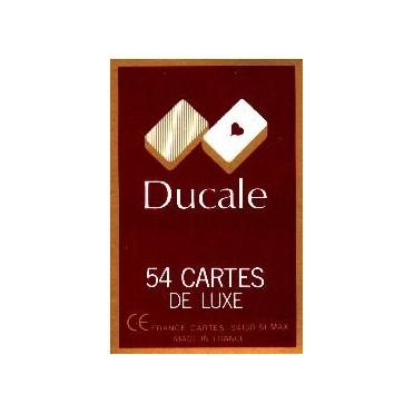 54 Cartes Ducale rouge