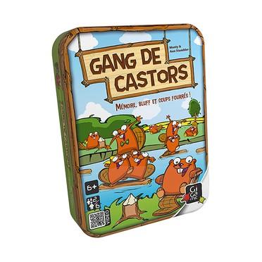 Gang de castors - boite métal