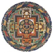 Mandala de Vajrabhairava - Art Tibétains 150 pièces