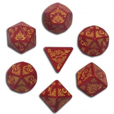 Pathfinder Dice Set: Curse of the Crimson Throne