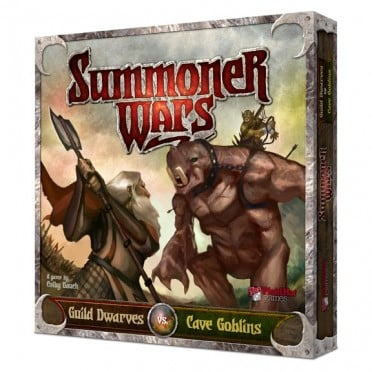 Summoner Wars - Guild Dwarves vs. Cave Goblins