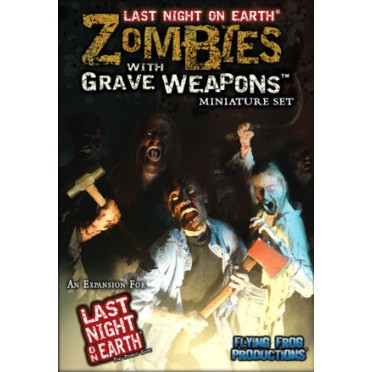 Last Night on Earth - Zombies with Grave Weapons Miniature Set