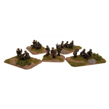 Machine-gun Platoon German
