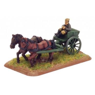 Horse-drawn Limbers (x3)