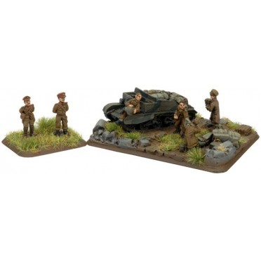 Major General Montgomery, with HQ Objective