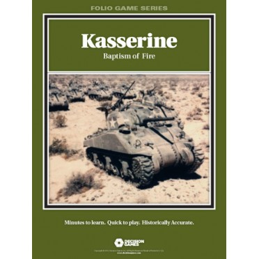 Folio Series : Kasserine : Baptisme of fire