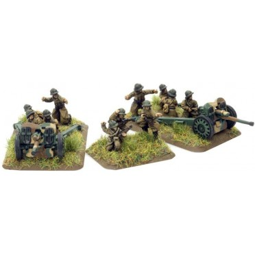French Division AT Platoon w/2 47mm