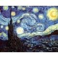 Nuit étoilée - Van Gogh 80 pièces 0
