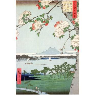Pommiers en fleurs - Hiroshige 150 pièces