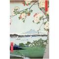 Pommiers en fleurs - Hiroshige 150 pièces 0