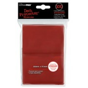 100 Deck Protector rouge Regular Size