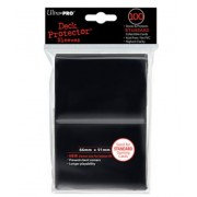 100 Deck Protector noir Regular Size