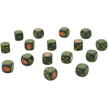 Tropic Lightning Dice Set
