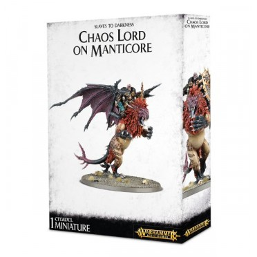 Age of Sigmar : Chaos - Chaos Lord on Manticore