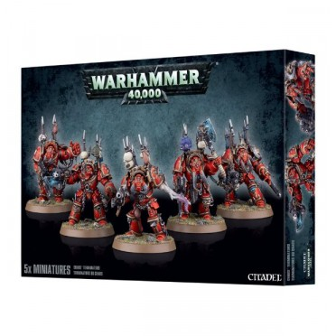 W40K : Chaos Space Marines - Terminator Squad