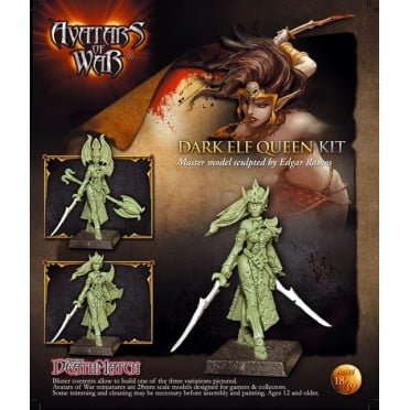 Avatars of War : Dark Elf Queen