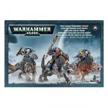 W40K : Adeptus Astartes Space Wolves - Thunderwolf Cavalry