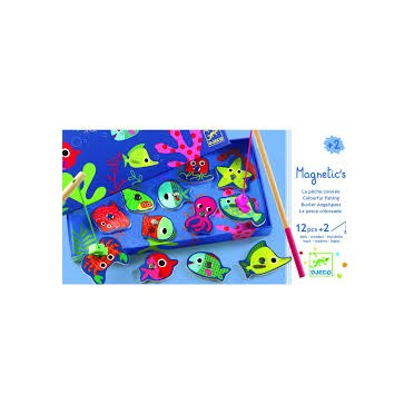 Jeu de Pêche Aimantée - Fishing Colour