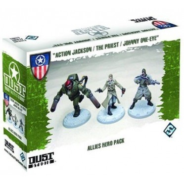 Dust Tactics - Allied Hero Pack