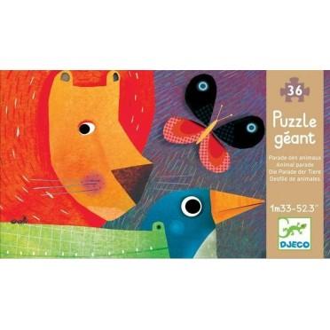 Puzzle Geant La parade des Animaux