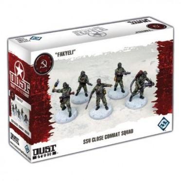 Dust Tactics - SSU Close Combat Squad