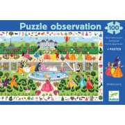 Puzzle observation Garden-party
