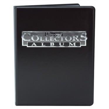 Portfolio A4 -9 cartes Noir