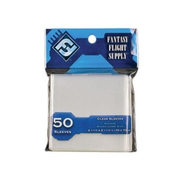 FFG - 50 Square Board Games Sleeves