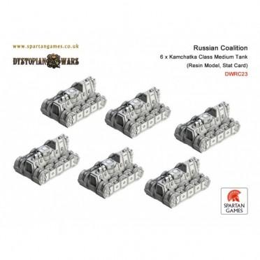 Russian Coalition - Kamchatka Class Medium Tank
