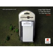 Dystopian Wars - Large Flight Stands Base and Peg Set