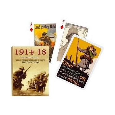 Jeu de cartes :La grande guerre 1914-1918